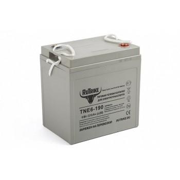 Тяговый гелевый аккумулятор RuTrike TNE6-190 (6V210A/H C3)