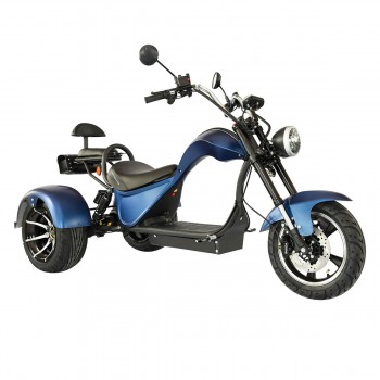 Электроскутер SKYBOARD TRIKE CHOPPER-4000 PRO FAST Синий
