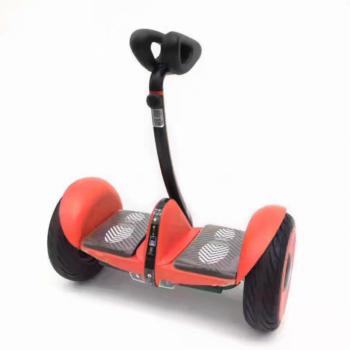 Мини-сигвей MINI ROBOT Красный карбон