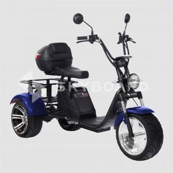 Электроскутер CityCoco SKYBOARD Trike BR80 Синий