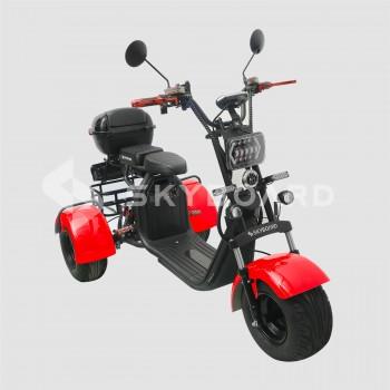 Электроскутер CityCoco SkyBoard Trike BR40-3000 PRO Красный
