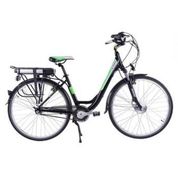 ЭлектровелосипедEltrecoTotemBlackAquaE-City