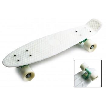"Пенни борд Zippy Board penny 22"" - Белый"